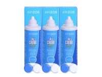 alensa.lt - kontaktiniai lęšiai - Valomasis tirpalas Avizor All Clean Soft 3 x 350 ml