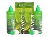 alensa.lt - kontaktiniai lęšiai - Valomasis tirpalas Alvera 2 x 350 ml pakuotė