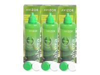 alensa.lt - kontaktiniai lęšiai - Valomasis tirpalas Alvera 3 x 350 ml pakuotė