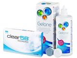 alensa.lt - kontaktiniai lęšiai - Clear 58 (6lęšiai)