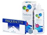 alensa.lt - kontaktiniai lęšiai - Frequency 55 (6lęšiai)
