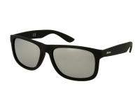 alensa.lt - kontaktiniai lęšiai - Akiniai nuo saulės Alensa Sport Black Silver Mirror