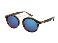 alensa.lt - kontaktiniai lęšiai - Akiniai nuo saulės vaikams Alensa Panto Havana Blue Mirror