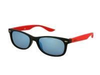 alensa.lt - kontaktiniai lęšiai - Akiniai nuo saulės vaikams Alensa Sport Black Red Mirror