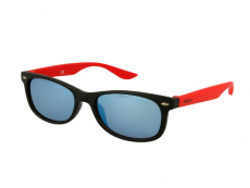 Akiniai nuo saulės vaikams Alensa Sport Black Red Mirror
