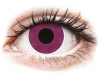 alensa.lt - kontaktiniai lęšiai - ColourVUE Crazy Lens - Purple - be dioptrijų
