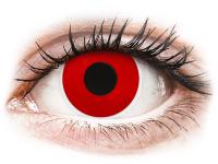 alensa.lt - kontaktiniai lęšiai - ColourVUE Crazy Lens - Red Devil - be dioptrijų