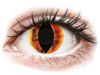 alensa.lt - kontaktiniai lęšiai - ColourVUE Crazy Lens - Saurons Eye - be dioptrijų
