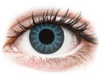 alensa.lt - kontaktiniai lęšiai - ColourVUE Crazy Lens - Solar Blue - su dioptrijomis