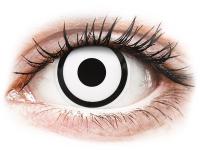 alensa.lt - kontaktiniai lęšiai - ColourVUE Crazy Lens - White Zombie - su dioptrijomis