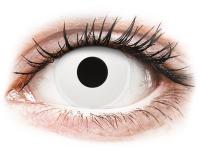 alensa.lt - kontaktiniai lęšiai - ColourVUE Crazy Lens - WhiteOut - su dioptrijomis