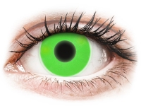 alensa.lt - kontaktiniai lęšiai - ColourVUE Crazy Glow Green - be dioptrijų