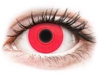 alensa.lt - kontaktiniai lęšiai - ColourVUE Crazy Glow Red - be dioptrijų