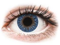 alensa.lt - kontaktiniai lęšiai - TopVue Color - True Sapphire - su dioptrijomis