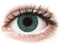 alensa.lt - kontaktiniai lęšiai - TopVue Color - Turquoise - be dioptrijų
