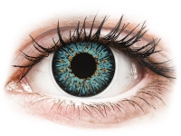 alensa.lt - kontaktiniai lęšiai - ColourVUE Glamour Aqua - su dioptrijomis