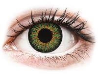 alensa.lt - kontaktiniai lęšiai - ColourVUE Glamour Green - be dioptrijų