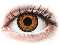 alensa.lt - kontaktiniai lęšiai - ColourVUE Glamour Honey - be dioptrijų
