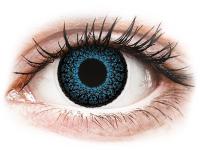 alensa.lt - kontaktiniai lęšiai - ColourVUE Eyelush Blue - su dioptrijomis