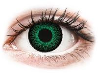 alensa.lt - kontaktiniai lęšiai - ColourVUE Eyelush Green - su dioptrijomis