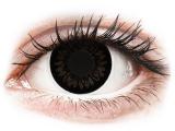 alensa.lt - kontaktiniai lęšiai - ColourVUE BigEyes Dolly Black - su dioptrijomis