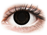alensa.lt - kontaktiniai lęšiai - ColourVUE BigEyes Dolly Black - be dioptrijų