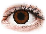 alensa.lt - kontaktiniai lęšiai - ColourVUE BigEyes Pretty Hazel - su dioptrijomis