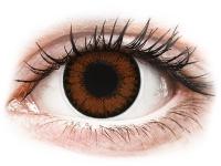 alensa.lt - kontaktiniai lęšiai - ColourVUE BigEyes Pretty Hazel - be dioptrijų
