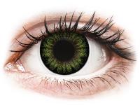 alensa.lt - kontaktiniai lęšiai - ColourVUE BigEyes Party Green - be dioptrijų