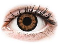 alensa.lt - kontaktiniai lęšiai - ColourVUE BigEyes Sexy Brown - su dioptrijomis