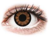 alensa.lt - kontaktiniai lęšiai - ColourVUE BigEyes Sexy Brown - be dioptrijų