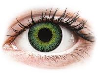 alensa.lt - kontaktiniai lęšiai - ColourVUE Fusion Green Yellow - be dioptrijų