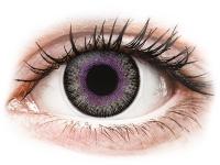 alensa.lt - kontaktiniai lęšiai - ColourVUE Fusion Violet Gray - be dioptrijų