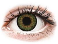 alensa.lt - kontaktiniai lęšiai - FreshLook One Day Color Green - su dioptrijomis