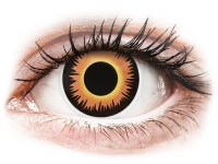 alensa.lt - kontaktiniai lęšiai - ColourVUE Crazy Lens - Orange Werewolf - vienadieniai be dioptrijų