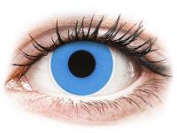 alensa.lt - kontaktiniai lęšiai - ColourVUE Crazy Lens - Sky Blue - vienadieniai be dioptrijų