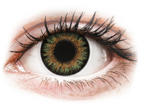 alensa.lt - kontaktiniai lęšiai - ColourVue One Day TruBlends Green - su dioptrijomis