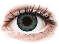 alensa.lt - kontaktiniai lęšiai - ColourVue One Day TruBlends Blue - su dioptrijomis