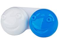 """alensa.lt - kontaktiniai lęšiai - Lęšių dėkliukas """"3D"""" (mėlynas)"""