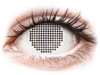 alensa.lt - kontaktiniai lęšiai - ColourVUE Crazy Lens - White Screen - be dioptrijų