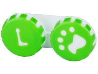"""alensa.lt - kontaktiniai lęšiai - Lęšių dėkliukas """"Letena"""" (žalias)"""