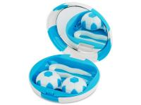 """alensa.lt - kontaktiniai lęšiai - Viskas viename lęšių rinkinukas """"Football"""" (mėlynas)"""