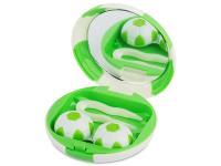 """alensa.lt - kontaktiniai lęšiai - Viskas viename lęšių rinkinukas """"Football"""" (žalias)"""