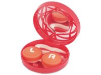 alensa.lt - kontaktiniai lęšiai - Viskas viename lęšių rinkinukas su ornamentais (raudonas)