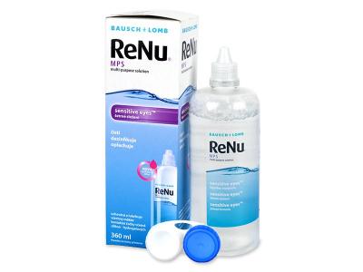 Valomasis tirpalas ReNu MPS Sensitive Eyes 360 ml