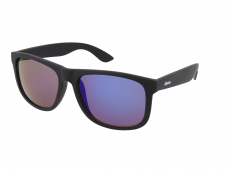 Saulės akiniai Alensa Sport All Black Blue Mirror