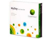 alensa.lt - kontaktiniai lęšiai - MyDay daily disposable