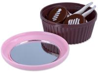 """alensa.lt - kontaktiniai lęšiai - Viskas viename lęšių rinkinukas """"Muffin"""" (rožinis)"""