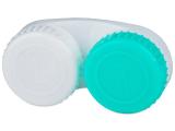 """alensa.lt - kontaktiniai lęšiai - Lęšių dėkliukas """"Žalia ir balta"""" L/R"""