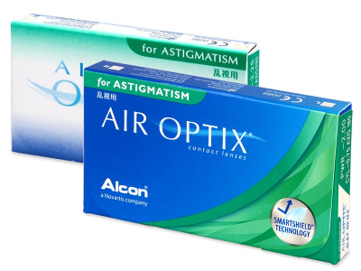 Air Optix for Astigmatism (3 lęšiai)